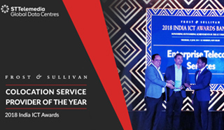 FROST & SULLIVAN JUDGED STT GDC INDIA AS COLOCATION SERVICE PROVIDER OF THE YEAR