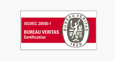 ISO 20000-1 : 2011 Certified