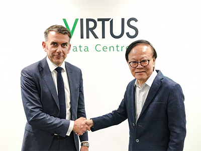 ST Telemedia Global Data Centres Acquires Control of VIRTUS Data Centres