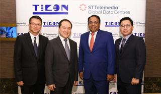 ST TELEMEDIA GLOBAL DATA CENTRES EXPANDS ITS ASIAN PRESENCE VIA A STRATEGIC PARTNERSHIP WITH TICON