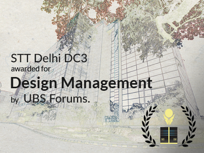 STT GDC India data centre wins award for Design Management at Data Centre Summit'2018 hosted
