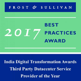 Frost and Sullivan's Best Practices Award 2017 Winner