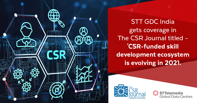 Bridging the skill gap in the data centre industry, STT GDC India aims to ensure improved employability, while upskilling the future workforce.