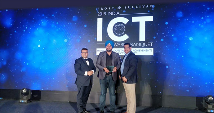 Frost & Sullivan Colocation Service Provider of the Year 2019