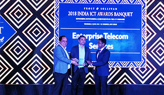 Colocation Service Provider of the Year Award by Frost & Sullivan