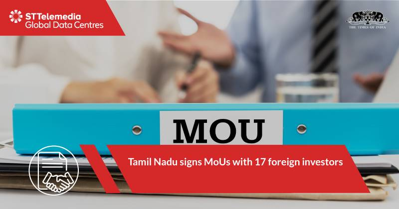Tamil Nadu signs MOU with 17 Foreign Investors